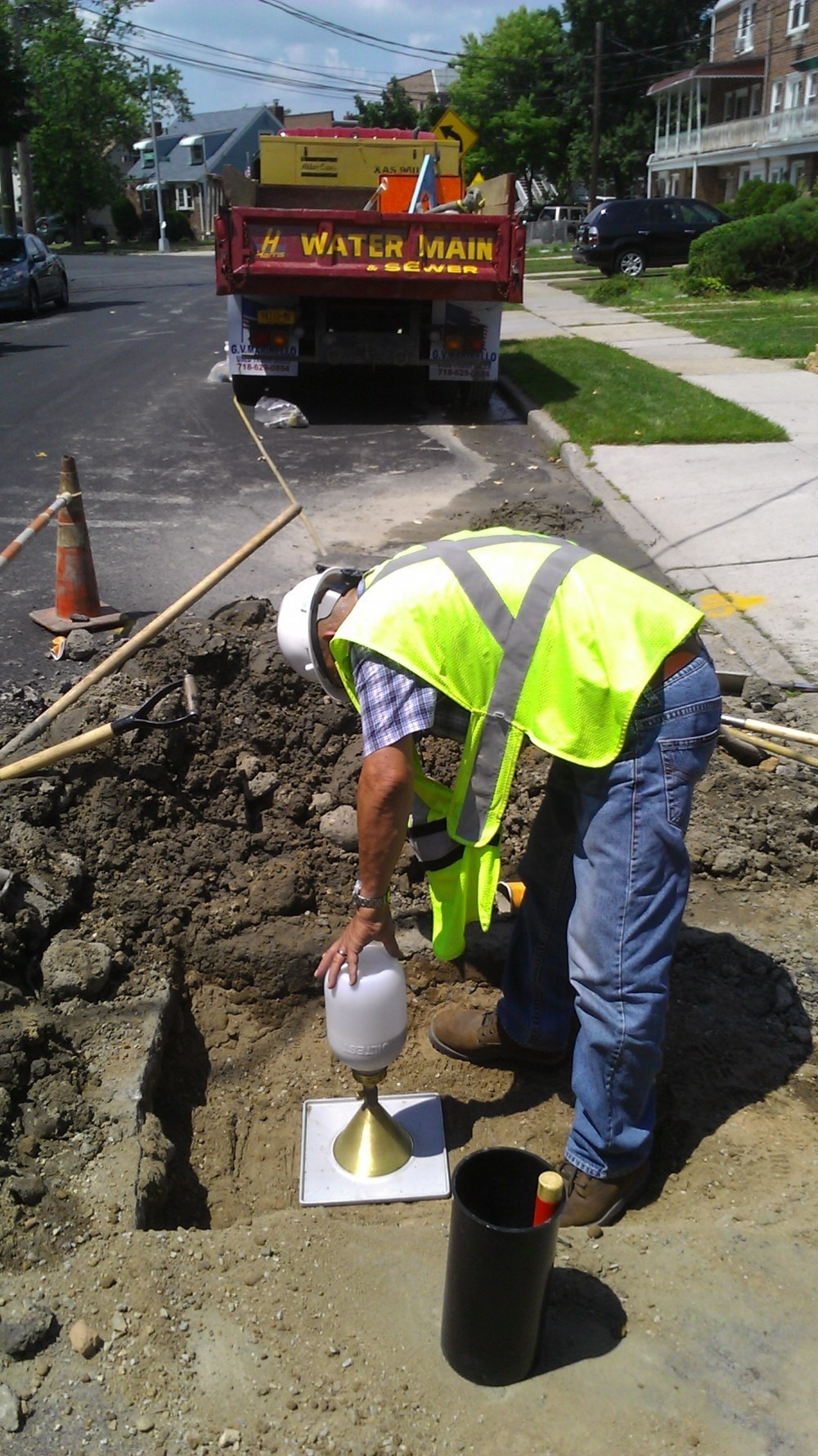 Water Line & Sewer Installations Require Soil Compaction ...