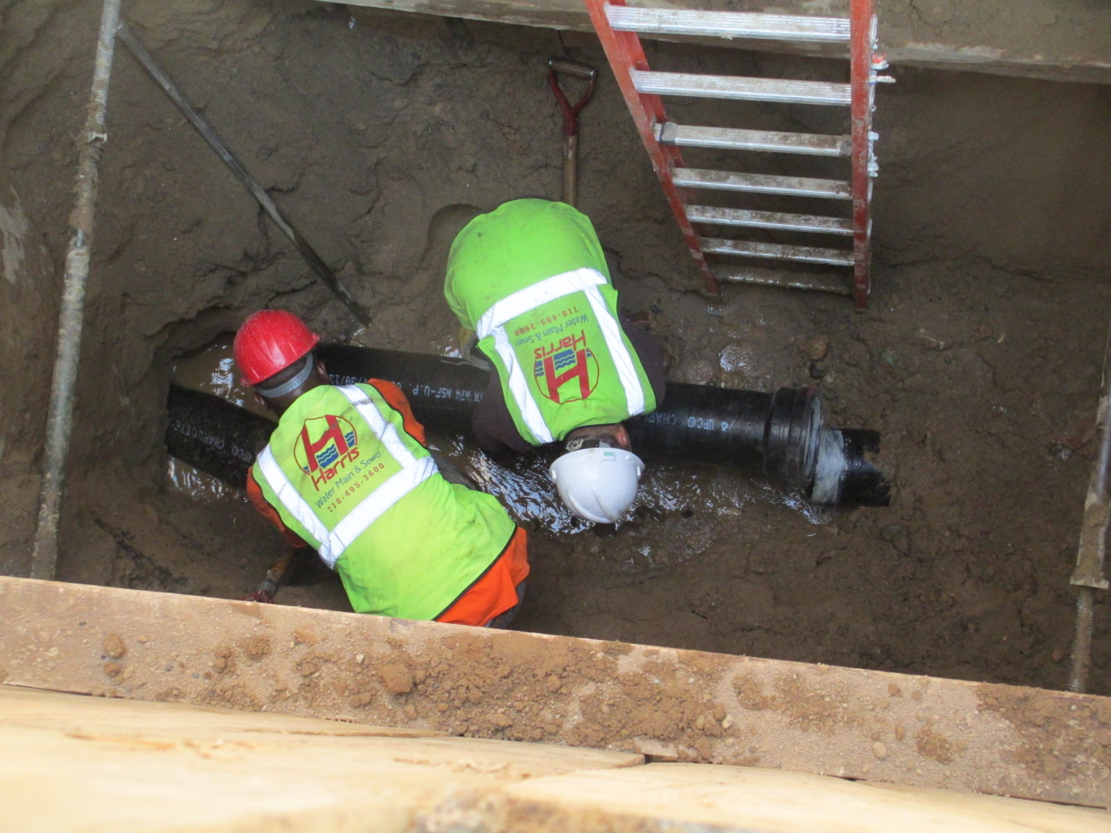 NYC Sewer Line Replacement & Repairs by Harris Water Main