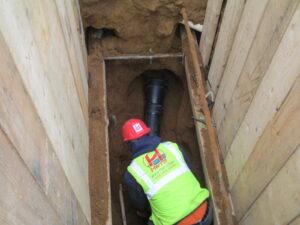 Repairing the broken pipe