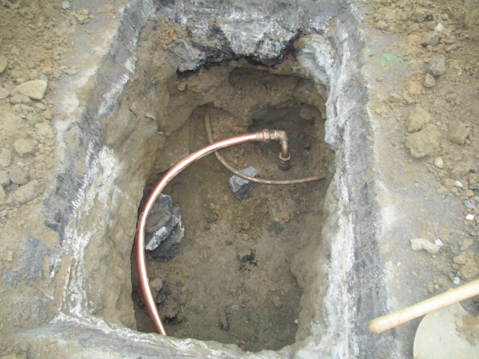 How long does a copper water main last harris water main for Water line pipe material