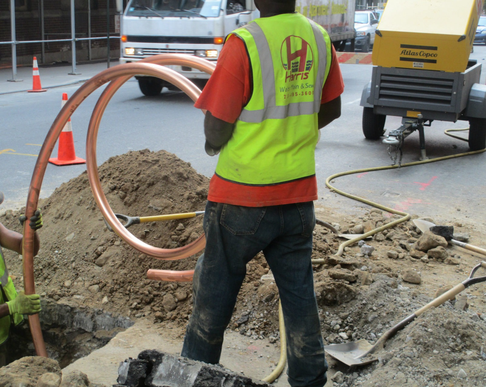 Copper water main installation & NYC Water Main Repair Replacement u0026 Installation Services