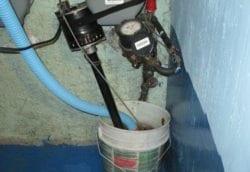 Relieving leak