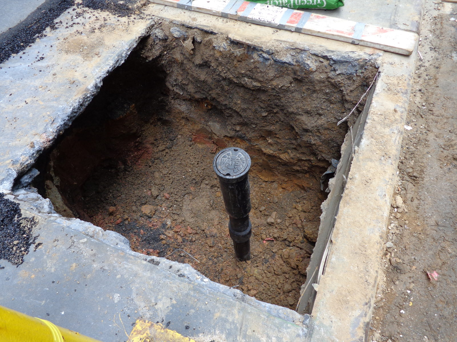 how to detect leak in underground water line