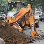 Excavating Eastern Parkway