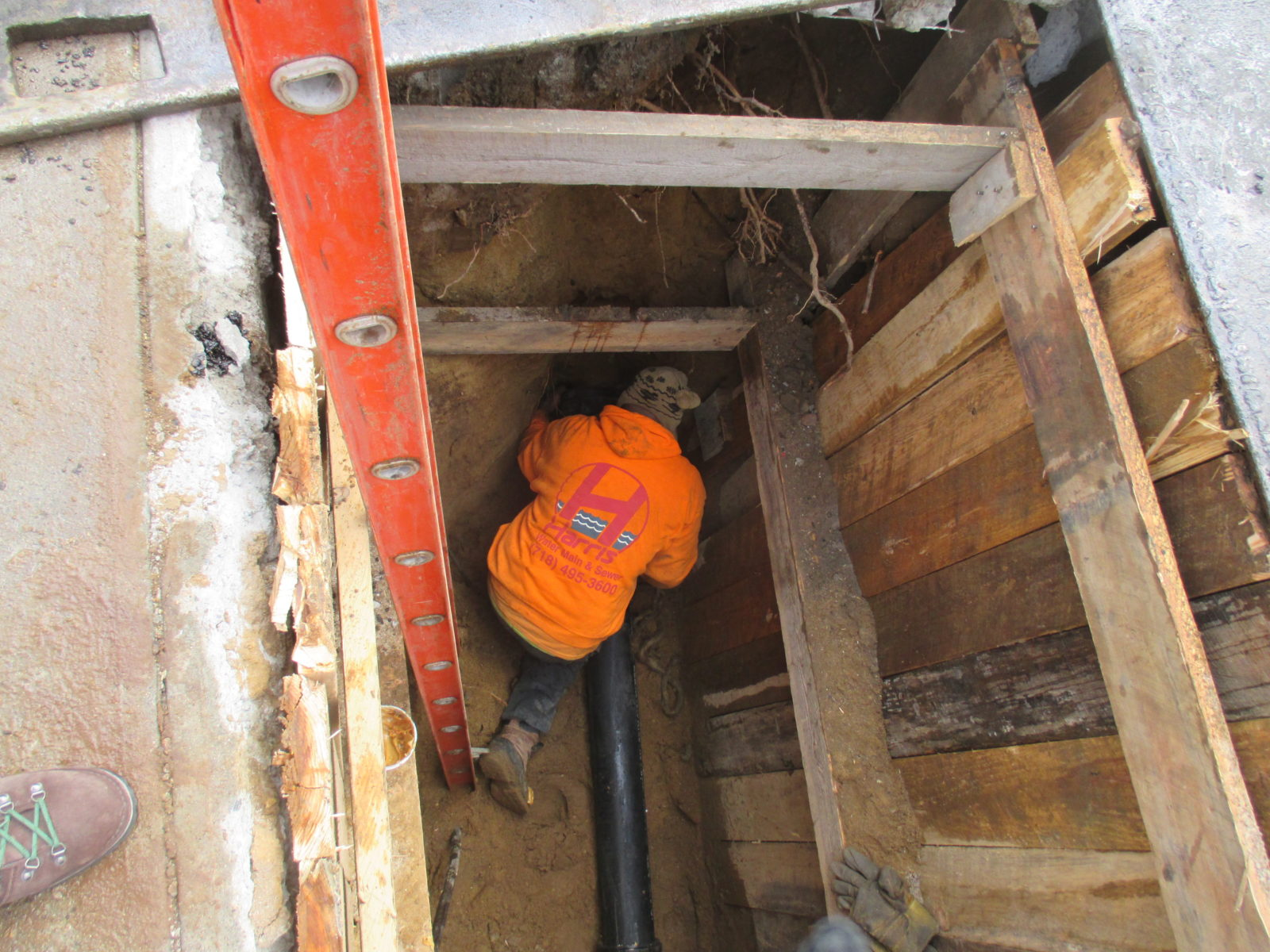 A Cast Iron Valve For Water Lines Was Used For Many Decades  Inside Sewer Water