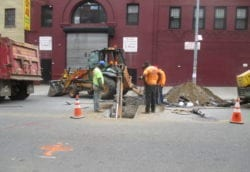 Roadway excavation