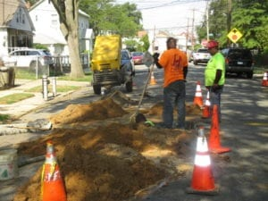 Preparing tunnels for water main