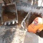 Excavating begins