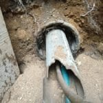 Illegal sewer liner