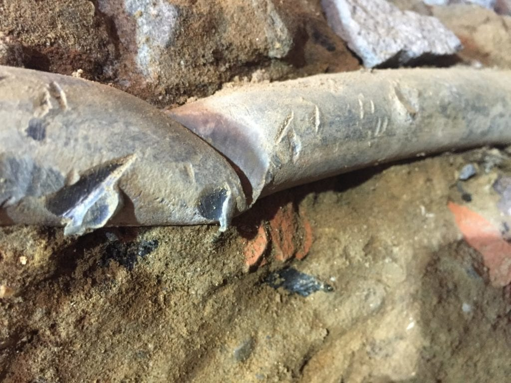 Lead water main replaced with copper