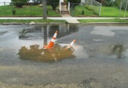 How to Find the Source of a Water Leak in Your Front Yard