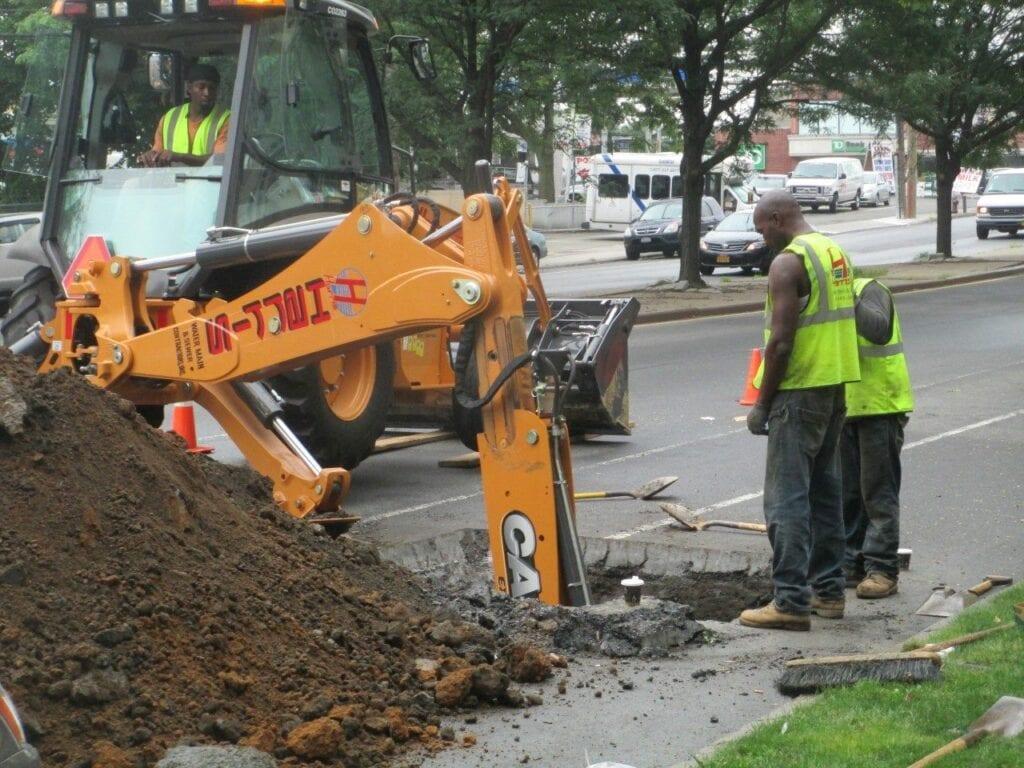 Water main contractors in the Bronx