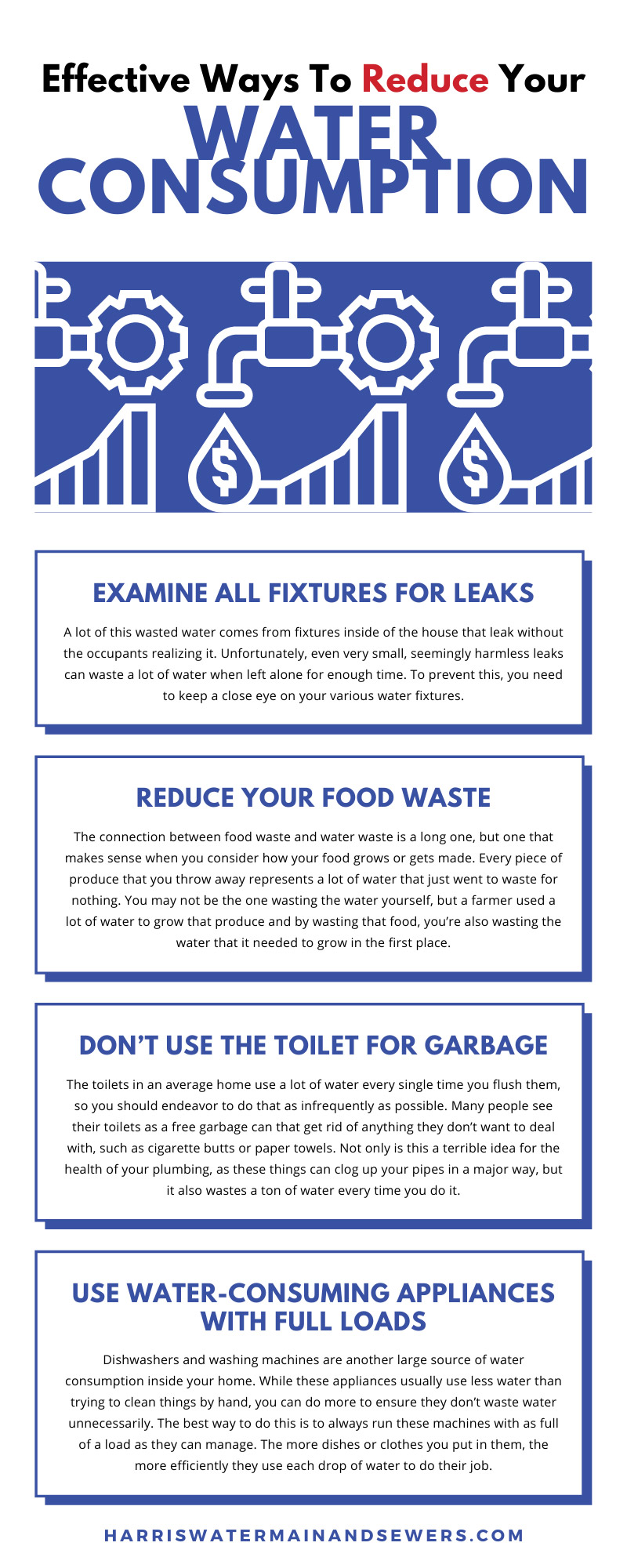 Effective Ways To Reduce Your Water Consumption
